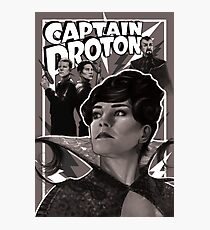 Captain Proton Photographic Print