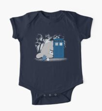 Curious Forest Spirits Short Sleeve Baby One-Piece
