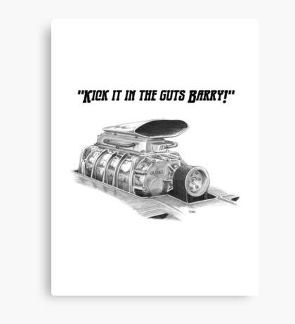 Supercharger Canvas Print