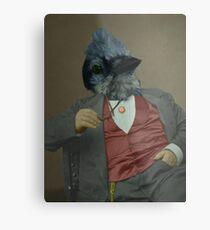 Gentlemen's club of exquisite plumage. Metal Print