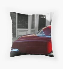 Devil's Red  Throw Pillow