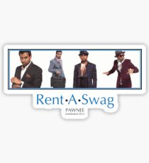 Rent-A-Swag Sticker