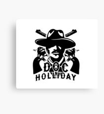 Doc Holiday  Canvas Print
