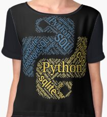 Python Programmer & Developer T-shirt & Hoodie NEW Chiffon Top