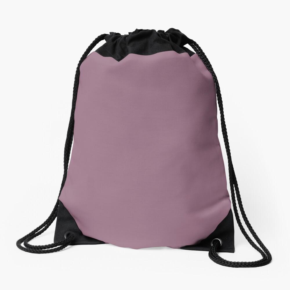 Mauve Drawstring Bag
