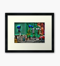 Lunenburg Colours Framed Print