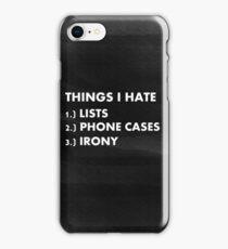 Funny ironic phone case  iPhone Case/Skin