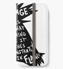 The Fire Mouse iPhone Wallet/Case/Skin
