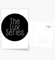 The Lux Series - Black Circle Postcards