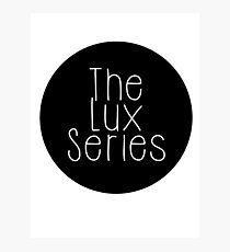 The Lux Series - Black Circle Photographic Print