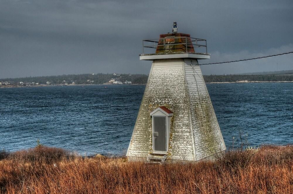 Sambro Harbour Lighthouse by Roxane Bay