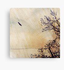Woodcut Canvas Print
