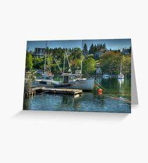 Indian Harbour Nova Scotia Greeting Card