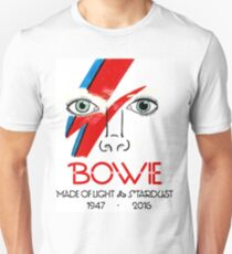 A Tribute to Bowie T-Shirt