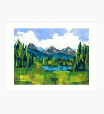 Teton Art Print