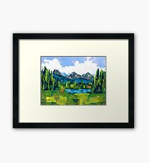 Teton Framed Print