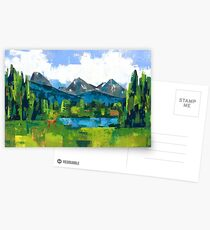 Teton Postcards