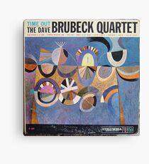 Time Out, Dave Brubeck Quartet, Original Mono cover Canvas Print