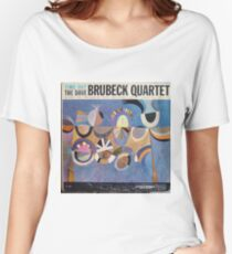 Time Out, Dave Brubeck Quartet, Original Mono cover Women's Relaxed Fit T-Shirt