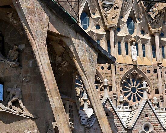Sagrada Familia - Entrance by Michael Lempert
