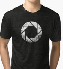 Aperture Laboratories - Distressed Tri-blend T-Shirt