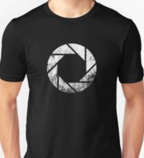 Aperture Laboratories - Distressed Unisex T-Shirt