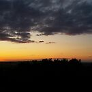 Penshaw Monument Sunset by Richard Winskill
