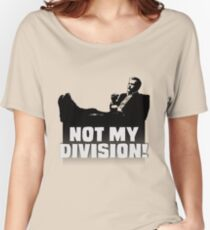 """""""Not My Division"""" Women's Relaxed Fit T-Shirt"""