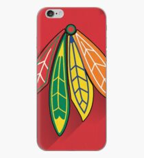 Chicago Blackhawks Minimalist Print iPhone Case