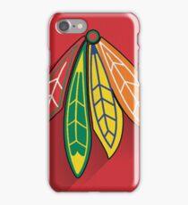 Chicago Blackhawks Minimalist Print iPhone Case/Skin