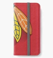 Chicago Blackhawks Minimalist Print iPhone Wallet/Case/Skin