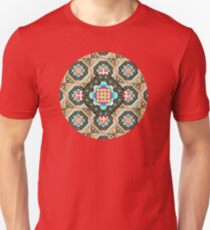 Bricolage Patchwork Quilt (small scale) Unisex T-Shirt