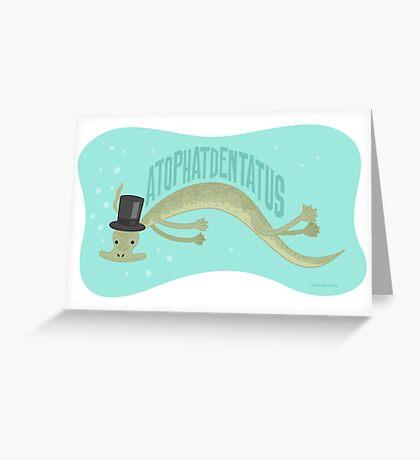 A-top-hat-dentatus Greeting Card