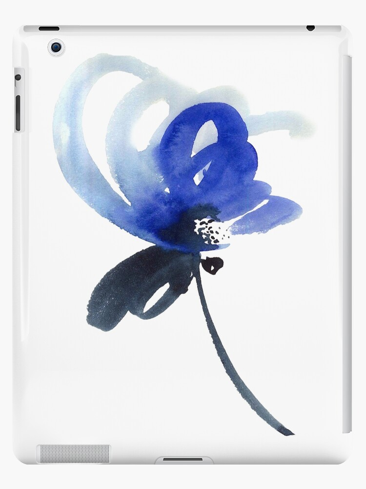 Blue flower by Tarakanova