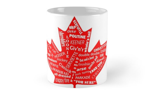 Canada flag canadian slang eh mugs by dclodge redbubble canada flag canadian slang eh by dclodge m4hsunfo