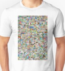 Soccer Stamps Unisex T-Shirt