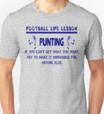 Punting: Football Life Lessons T-Shirt