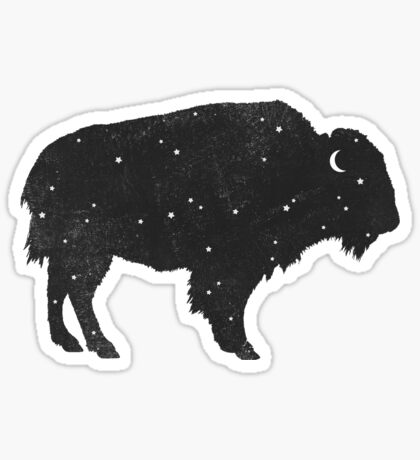 Mystic Buffalo Sticker