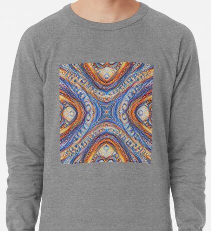 Demicircles #DeepDream Lightweight Sweatshirt