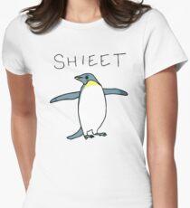 Shieet Penguin Women's Fitted T-Shirt