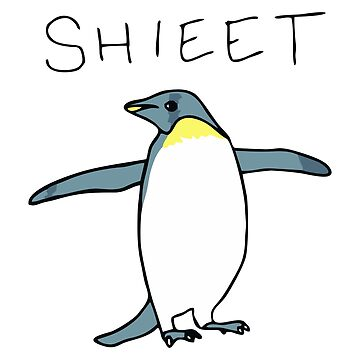 Shieet Penguin by kremi