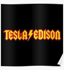 Tesla Edison Poster