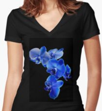 Blue Orchid Women's Fitted V-Neck T-Shirt