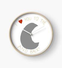 ILY zum Mond und zurück! <3 Uhr