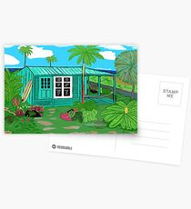 Hawaii Cottage Postcards