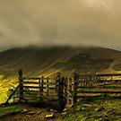 Mam Tor in the Clouds by John Dunbar