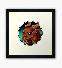 Dragonborn Cleric (Normal) Framed Print