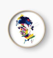 Roger Federer art Clock