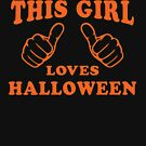 This Girl Loves Halloween by Fitspire Apparel