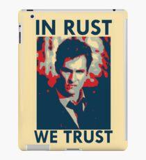 Iconic - In Rust We Trust iPad Case/Skin